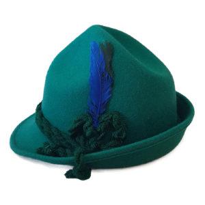Chapéu Tirolês (chapéu típico alemão para oktober) 4c79b8624c6